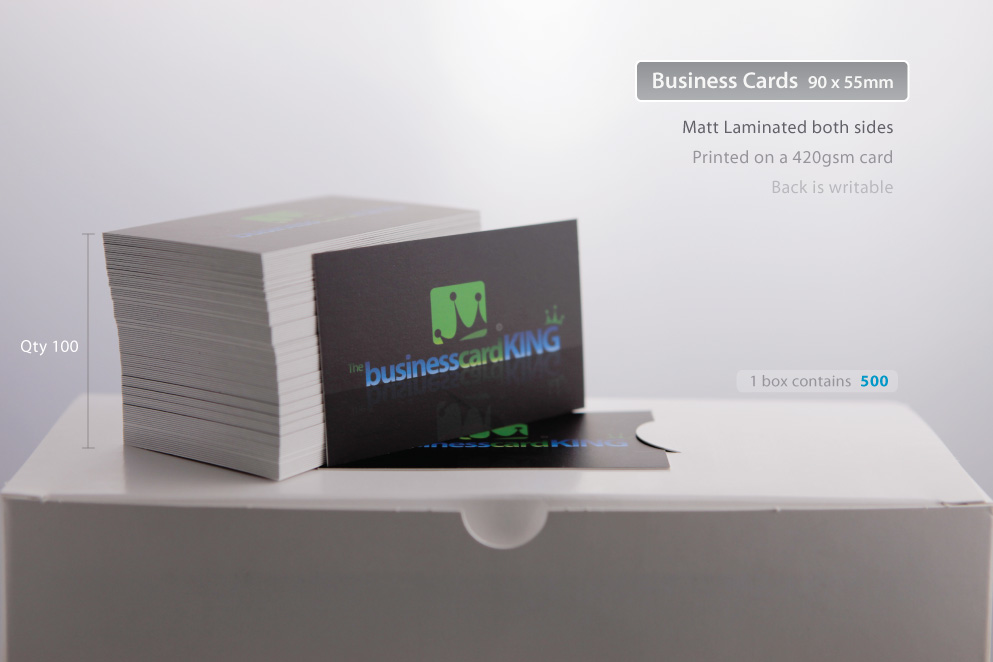 Business Card Printing | The Business Card King